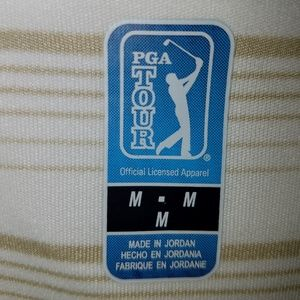 Mens PGA polo size medium.